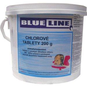 Chlorové tablety 200g pomalurozpustné 3kg