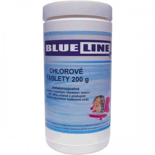 Chlorové tablety 200g pomalurozpustné 1kg