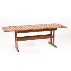 Rozkladatelný zahradní stůl ze severské borovice SKEPPSVIK