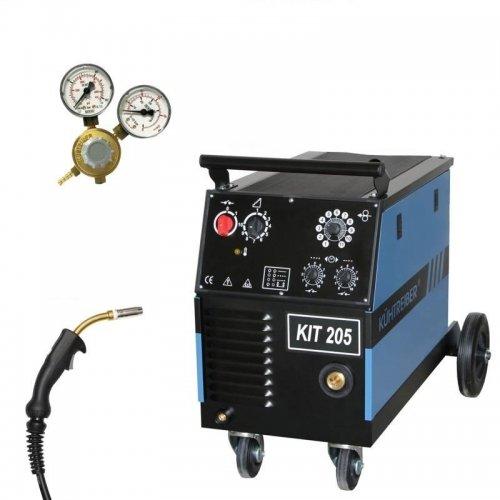 Svařovací stroj CO2 4-kladkový posuv + hořák, ventil KÜHTREIBER KIT 225 STANDARD