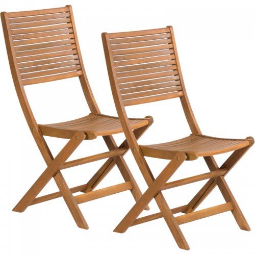 Sada 2 skládacích židlí FIELDMANN FDZN 4012-T
