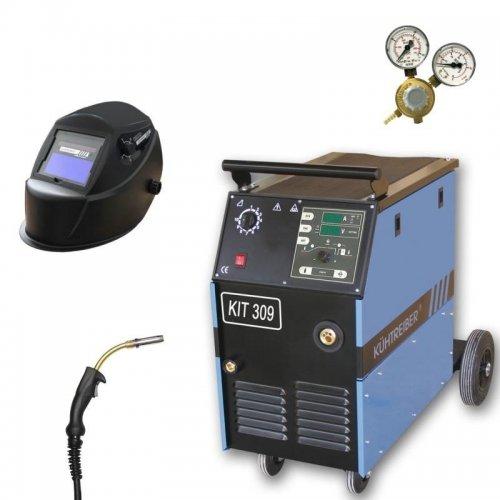 Svařovací stroj CO2 + hořák, maska a ventil KÜHTREIBER KIT 309 PROCESSOR