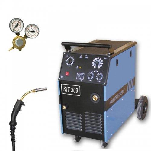 Svařovací stroj CO2 4-kladkový posuv + hořák a ventil KÜHTREIBER KIT 309 STANDARD