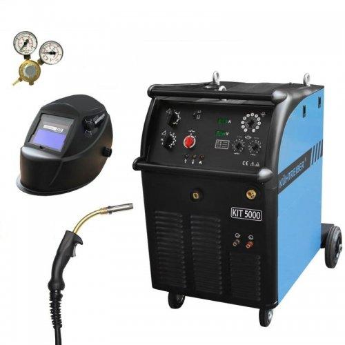 Svařovací stroj CO2 + hořák, maska a ventil KÜHTREIBER KIT 4000 W STANDARD