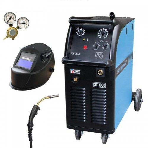 Svařovací stroj CO2 + hořák, maska a ventil KÜHTREIBER KIT 3000 STANDARD