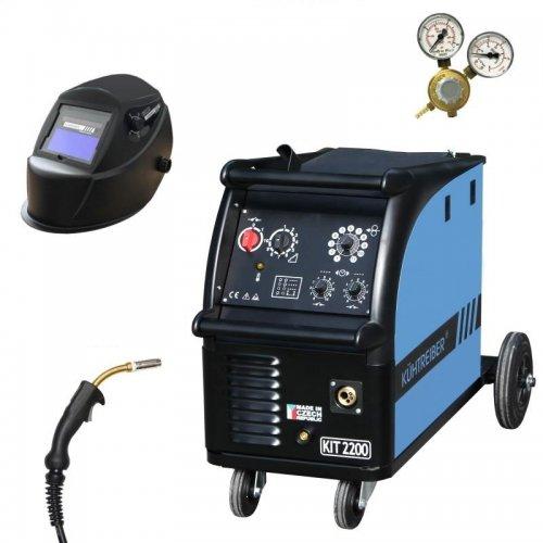 Svařovací stroj CO2 + hořák, ventil a maska KÜHTREIBER KIT 2400 STANDARD