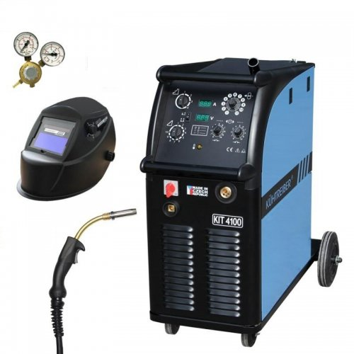 Svařovací stroj CO2 + hořák, maska a ventil KÜHTREIBER KIT 3500 STANDARD