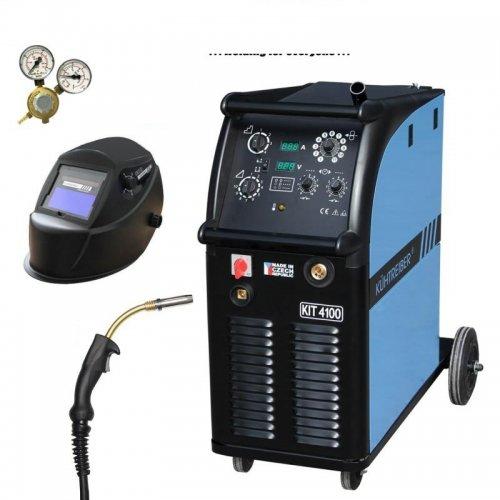 Svařovací stroj CO2 + hořák, maska a ventil KÜHTREIBER KIT 4100 STANDARD