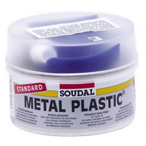 Tmel Soudal Metal plastic standard šedý