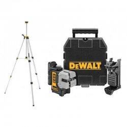 Samonivelační křížový laser se stativem DeWALT DW089KTRI