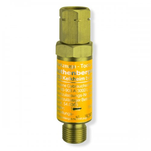 Redukční ventil na acetylen s protizášlehovou pojistkou ROTHENBERGER