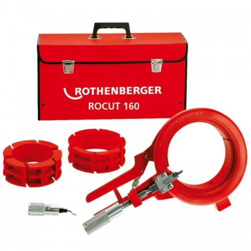 Řezací a úkosovací nástroj na plastové trubky ROTHENBERGER ROCUT 160