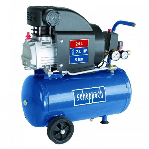 Olejový kompresor Scheppach HC25