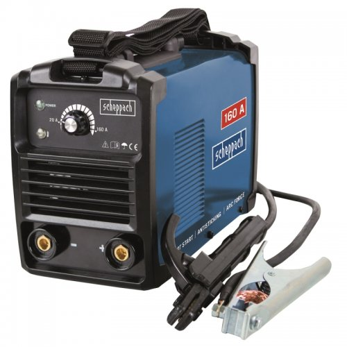 Svářecí invertor + příslušenství 160 A Scheppach WSE900