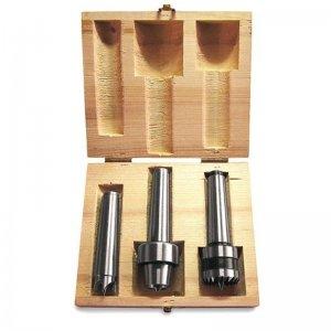 Sada unašečů 3 díly pro soustruhy na dřevo DB Holzstar 5931056