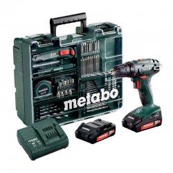 Set aku vrtačka 2x2,0 Ah Metabo BS 18 MD
