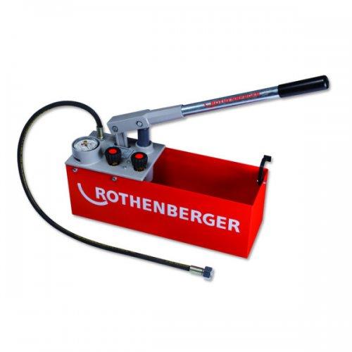 Zkušební tlaková pumpa pozinkovaný plech ROTHENBERGER RP 50