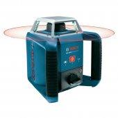 Stavební rotační laser + LR 1 + kufr Bosch GRL 400 H set Professional
