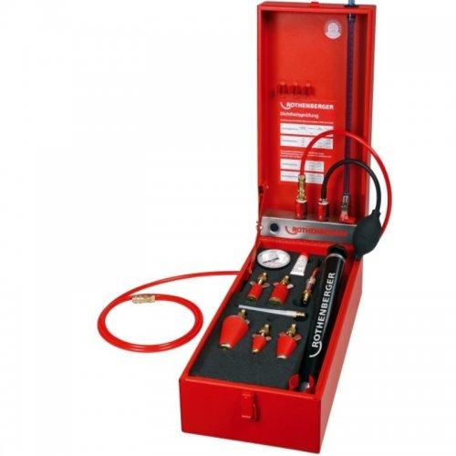 Přístroj na zkoušky plynového potrubí bez zátky plynoměru ROTHENBERGER ROTEST GW 150/4