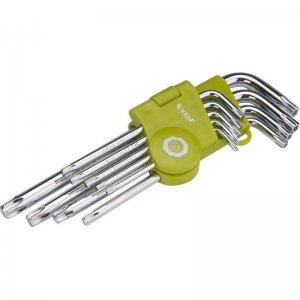 L-klíče TORX sada 9ks T 10-50 EXTOL CRAFT 66011