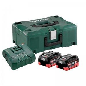 Basic-Set LiHD Metabo 2 akumulátorů 18 V/2 x 8,0Ah + nabíječka ASC Ultra + kufr