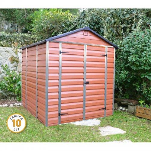 Zahradní domek Palram Skylight 6x8 hnědý