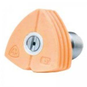 Žlutá tryska pro vějířový paprsek, 15° pro vysokotlaký čistič Cleancraft HDR-K 90