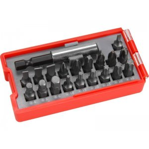 Sada hrotů 20ks + magnetický držák hrotů EXTOL PREMIUM 8819640