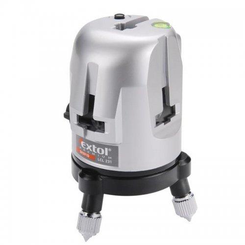 Laser čárový křížový samonivelační 2H3V1D EXTOL PREMIUM 8823310