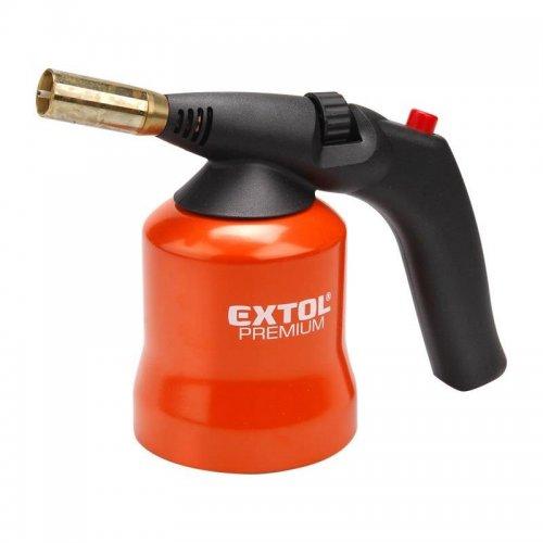 Hořák s piezo zapalováním na propichovací kartuše EXTOL PREMIUM 8848105
