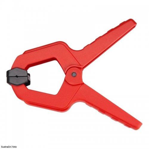 Svorka pružinová plastová 85mm max. rozevření 38mm EXTOL PREMIUM 8815412