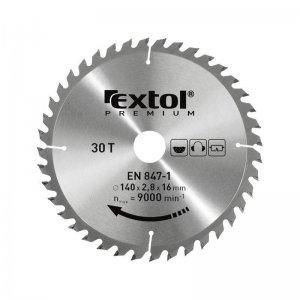 Kotouč pilový s SK plátky 185x2,2x20mm 24T EXTOL PREMIUM 8803222
