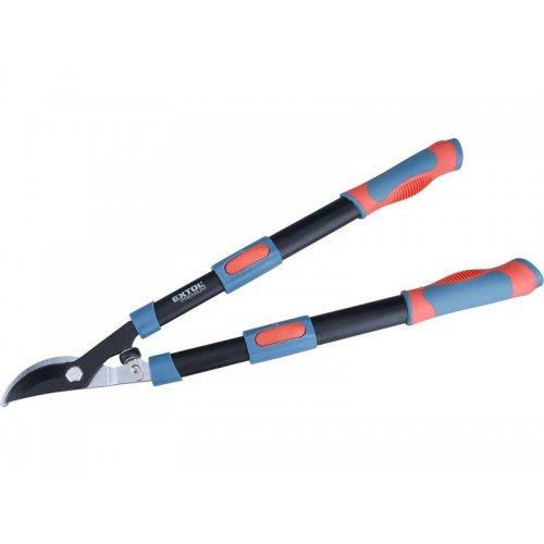 Nůžky na větve teleskopické dvousečné, 640-905mm, HCS EXTOL PREMIUM 8873106