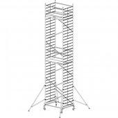Pojízdné hliníkové lešení do 10,3 m ProTec 2 x 1,35 m