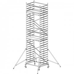 Pojízdné hliníkové lešení do 8,3 m ProTec 2 x 1,35 m