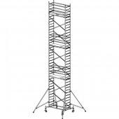Pojízdné hliníkové lešení do 11,3 m ProTec 2 x 0,7 m