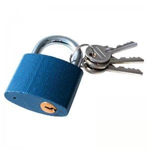 Zámek visací litinový 25mm 3 klíče zacvakávací EXTOL CRAFT 93125