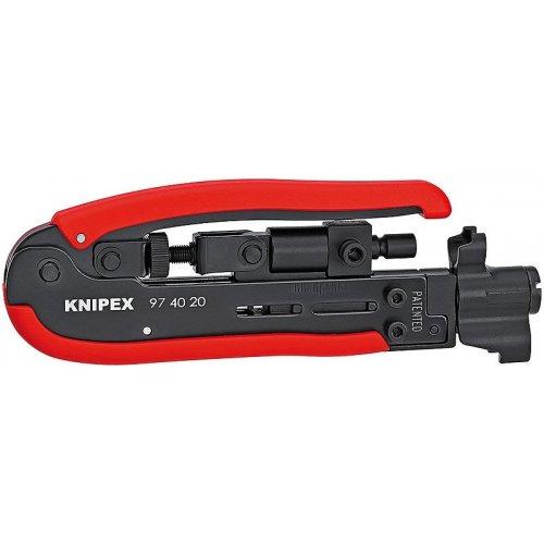 Kompresní nářadí pro koaxiální konektory Knipex 97 40 20 SB