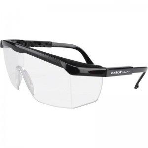Brýle ochranné čiré univerzální velikost EXTOL CRAFT 97301