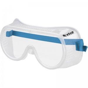 Brýle ochranné přímo větrané univerzální velikost EXTOL CRAFT 97303
