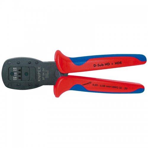 Kleště lisovací pro konektor D-Sub Knipex 97 54 24