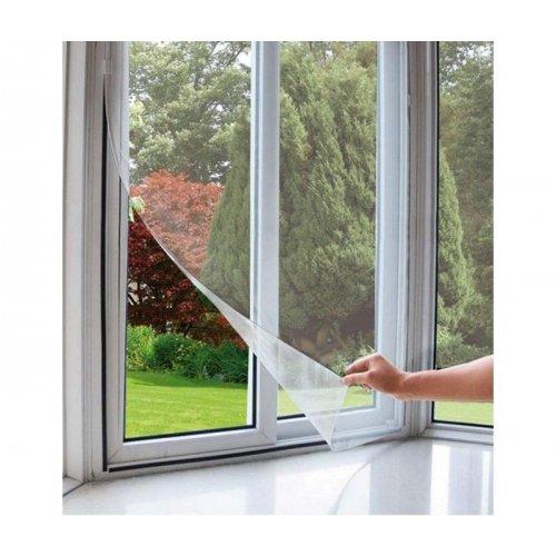 Okenní síť proti hmyzu 100x130cm, bílá EXTOL CRAFT 99110