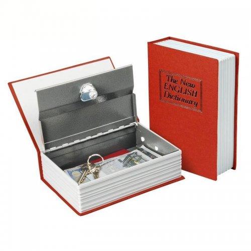 Schránka bezpečnostní vzhled knihy 180x115x54mm 2 klíče EXTOL CRAFT 99016