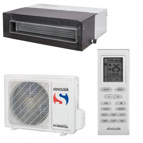 Kanálová klimatizace Inverter ASD-12AIN
