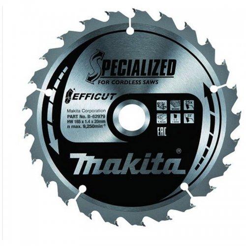 Pilový kotouč Efficut 165x20mm 25T Makita B-62979