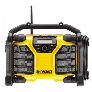 Aku i síťové rádio / nabíječka DeWALT DCR017