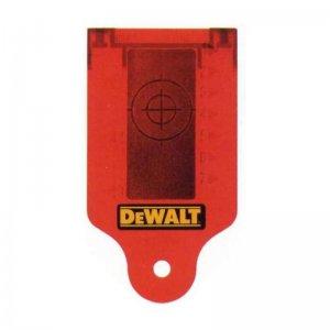 Zaměřovací karta laseru DeWALT DE0730