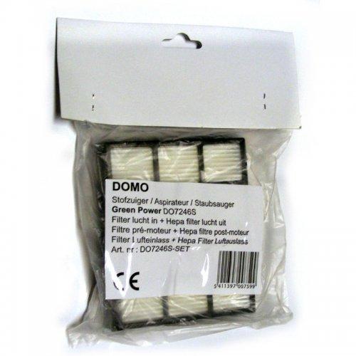 Sada vstupního,výstupního a HEPA filtru DOMO DO7246S-SET