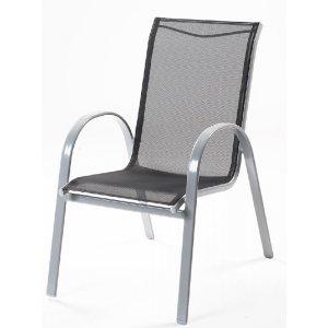 Stohovatelná židle z hliníku VERA