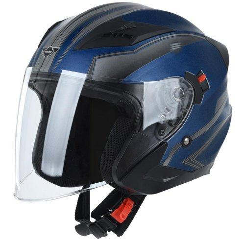 Přilba pro skútr a motocykl HECHT 53627XS